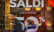 Il grande crollo dei saldi: vendite giù del 32,8%
