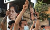 In Myanmar è stata imposta la legge marziale contro le proteste